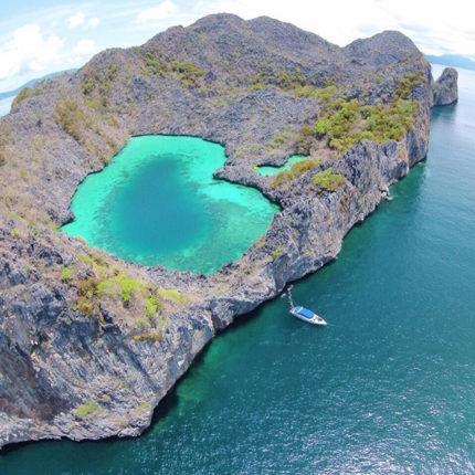 ทัวร์เกาะหัวใจมรกต 3 วัน 2 คืน ทัวร์ระนอง
