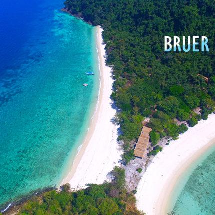 ทัวร์เกาะบรูเออร์ เกาะหัวใจมรกต เกาะพม่า